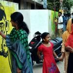 khasak, o v vijayan, ഖസാക്കിന്റെ ഇതിഹാസം, ഖസാക്ക്, ദീപൻ ശിവരാമൻ, graffiti, ഗ്രാഫിറ്റി