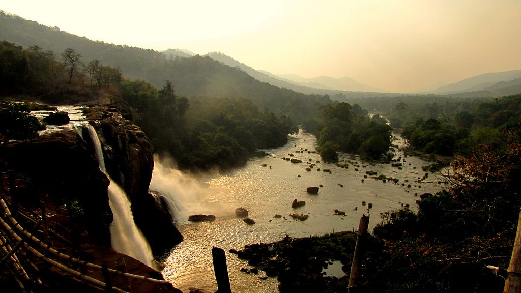 Athirappilly-waterfalls