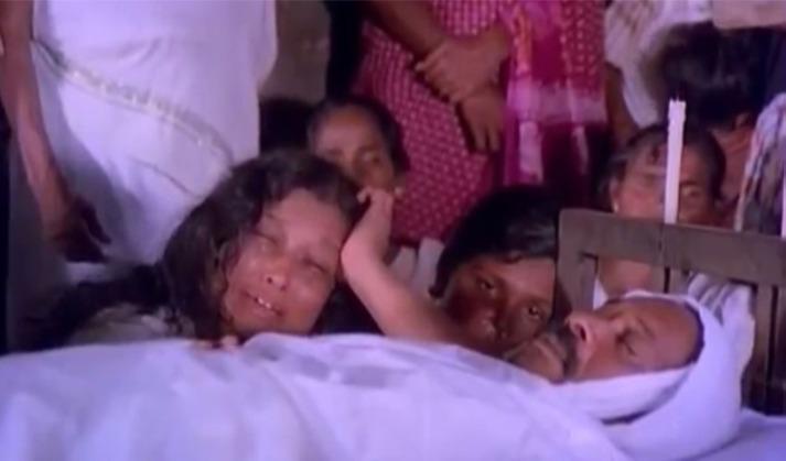 """""""നിന്റെ ആരേലും ഇവിടെ ചത്തുകിടപ്പുണ്ടോ!"""" - രാജം കെ. നായര് (കോലങ്ങൾ; 1981)"""