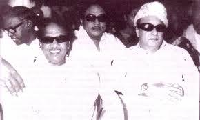 കരുണാനിധി, എം ജി ആർ