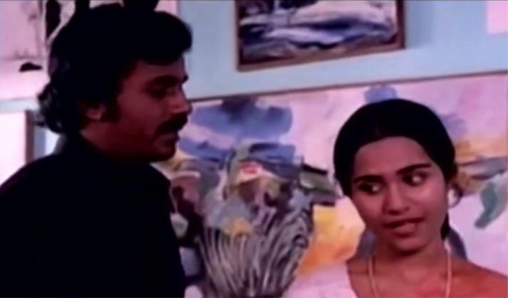 """""""ശരദിന്ദു മലർദീപനാളം നീട്ടി"""" - വേണു നാഗവള്ളി, ശോഭ (ഉൾക്കടൽ; 1979)"""