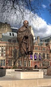 Statue of Mahatma Gandhi, Parliament Square, London